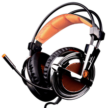 Magic Crystal 7.1 Channel 4D Vibration Stereo Wired USB Gaming Headphone Game Headset