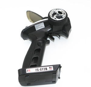 Image 4 - Flysky FS GT2B FS GT2B 2.4G 3CH بندقية RC تحكم/ث استقبال ، TX البطارية ، كابل يو اس بي ، مقبض ترقية FS GT2 GT2
