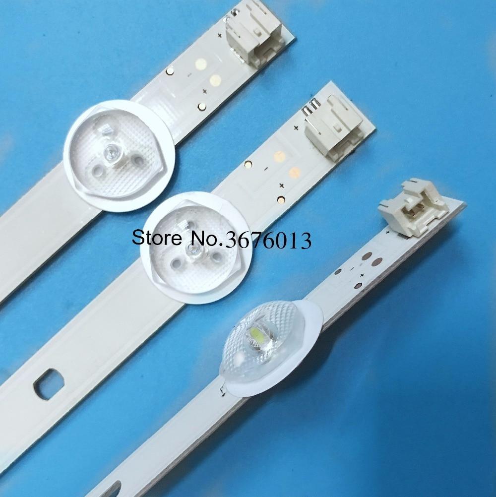 Honest 10pcs=1lot 100% New For 29p1300vt Led Strip Svt290a05 P1300 6led Rev03 Led Backlight Strips 565mm Led Lighting