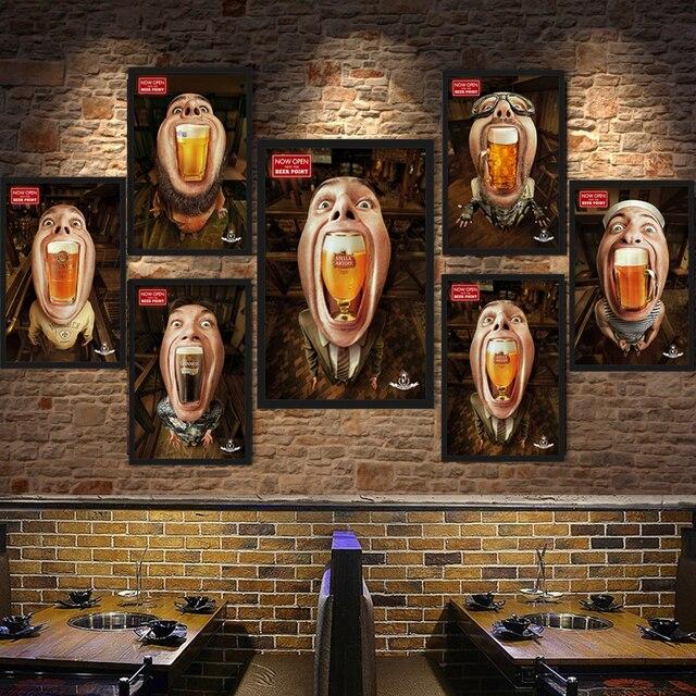 Fabulous Amerikaanse Retro Cafe Bar Pub Decoratie Poster Grappig Bier #NQ29