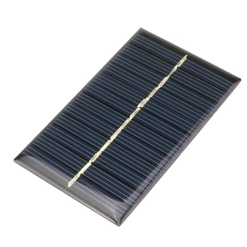 Baterias Solares mini 6 v 110ma painel Capacidade Nominal : 6V 110ma Solar Power Panel
