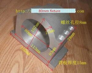 Image 5 - المياه المبردة المغزل عدة 2.2KW نك طحن المغزل المحرك 2.2KW فد 80 مللي متر المشبك مضخة المياه/الأنابيب 10 قطعة ER20 ل نك راوتر