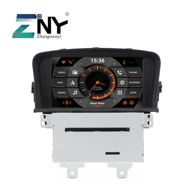 "7 ""IPS Android 8.0 GPS สำหรับ Cruze 2008 2009 2010 2011 2012 วิทยุ RDS DVD Audio วิดีโอ WiFi Navigation กล้องด้านหลัง"