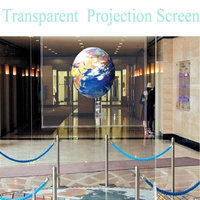 152cmx100cm Clear Rear Projection Screen Film holographic screen film  60''x39.37'' High Quality 1m|Decorative Films| |  -