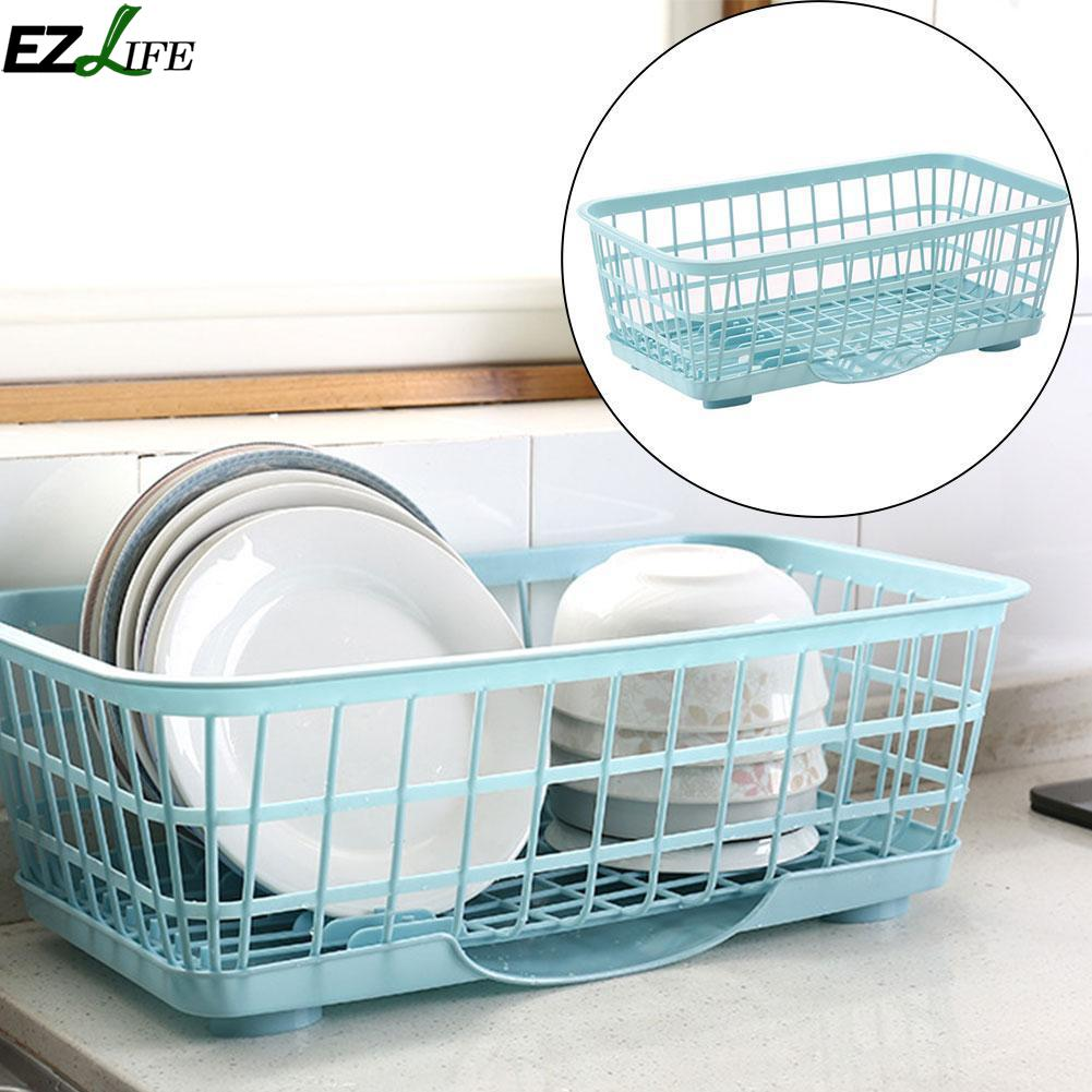 Kitchen Storage Rack Stainless Steel Draining Basket Rack Adjustable ...