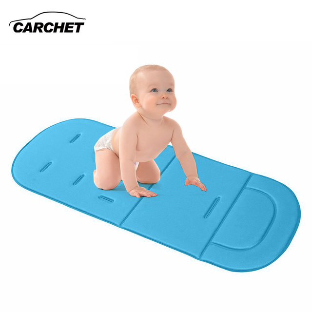 CARCHET Car Seat Cover Baby Pram Liner Pad Cushion Stroller Auto ...