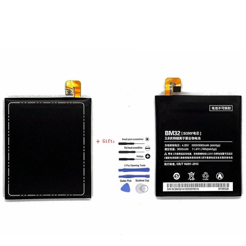 Suqy Vente Chaude BM-32 Téléphone Batterie Pour Xiao mi mi 4 M4 mi 4 16 gb 64 gb BM32 BM 32 remplacer Téléphone Bateria Accumulateur Avec Outils Kit