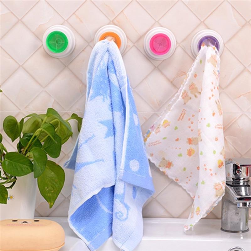 1pcs Heated Towel Rail Holder Bathroom Accessoriestowel: 1Pcs Wash Cloth Clip Holder Clip Dishclout Storage Rack