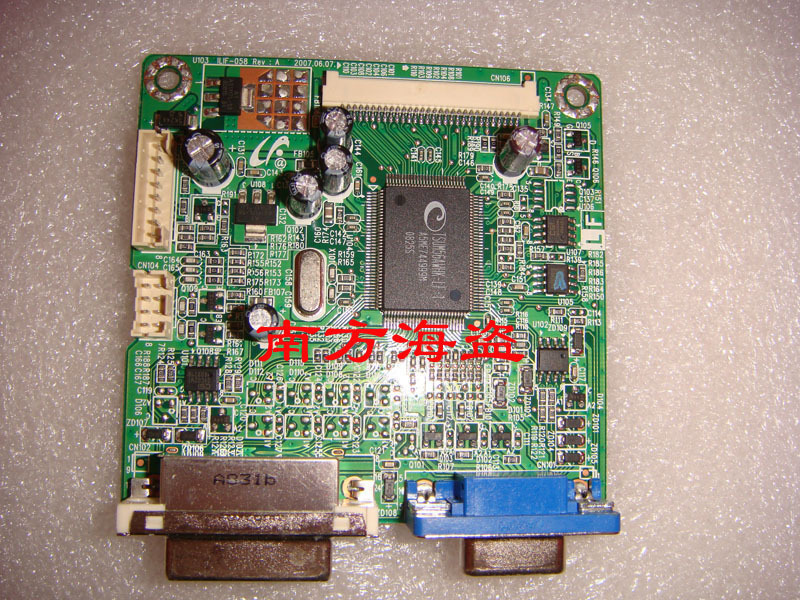 Free Shipping>4902513001100R ILIF-058 HANNS.G  HW191A driver board with a DVI port-100% Tested Working free shipping 4902513001100r ilif 058 hanns g hw191a driver board with a dvi port 100% tested working
