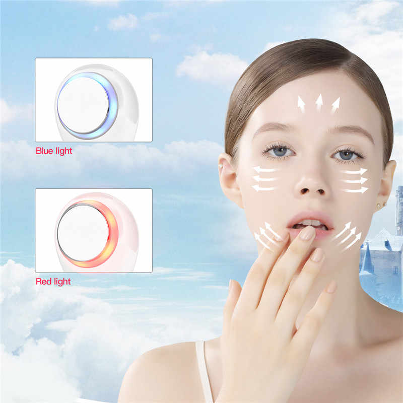3 Iin 1 Điện Sữa Rửa Mặt Làm Sạch Sâu Chăm Sóc Da Làm Trắng Mặt Massager với LED Sóng Ánh Sáng Nhập Khẩu Bụi Bẩn Dầu remover
