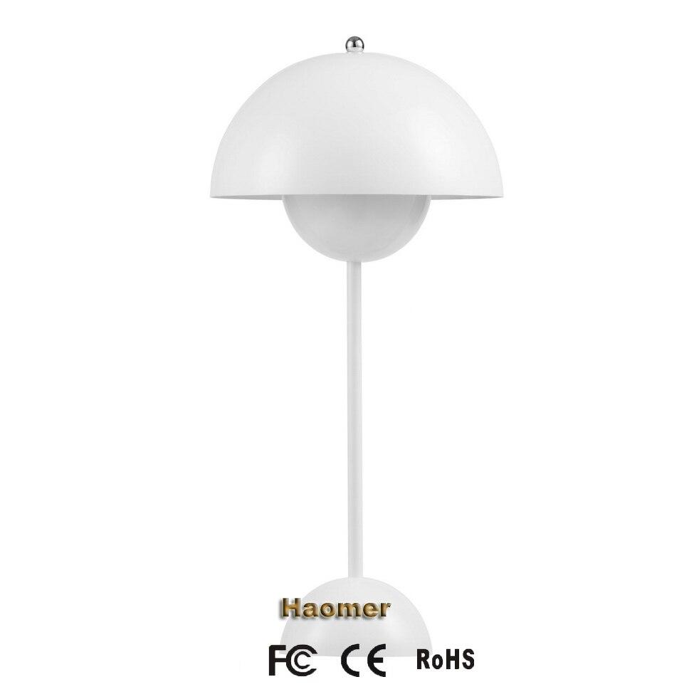 Bureau Lumières Ufo Lampe À Créative Poser Panton Pot De BlancnoirrougejaunebleuVerner Fleurs DIYEH2ebW9
