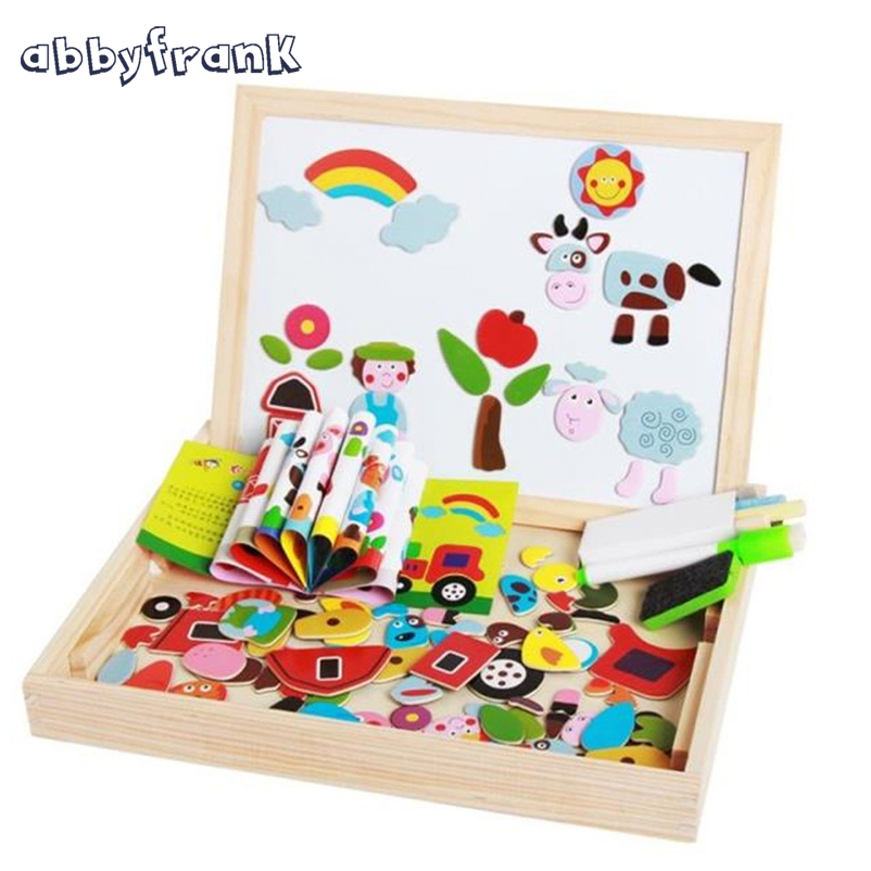 Expressive Abbyfrank 1 Set Insect Farm Traffic Animal Magnetic Puzzle Wooden Multifunctional Double Sided Easel Learning & Education Toys Factory Direct Selling Price Back To Search Resultstoys & Hobbies