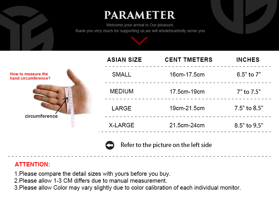 Details of Touch Screen Army Military Tactical Gloves