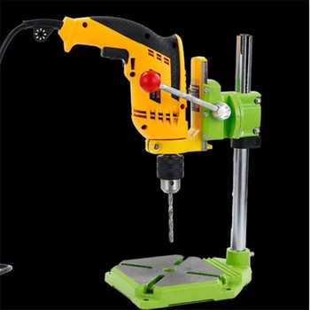 Bench Drill Stand/Electric Drill Universal Holder Stand Stents Electric Tools 90 degrees Rotating Fixed Frame ,drill Press Table