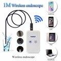 Wi-fi Камера-Эндоскоп Управления Широкий Угол Скрытые Посвященный Цифровой Видеорегистратор USB LED Микроскоп 1 М Бороскоп