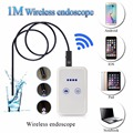 Wifi Endoscope Camera Control Wide Angle Hidden Dedicated Digital Video Recorder USB LED Microscope 1 Meter Borescope