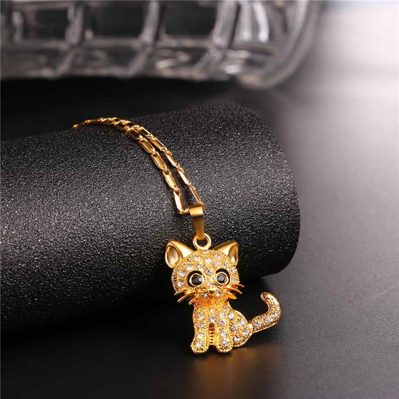 Cute Cat Pendant Gift