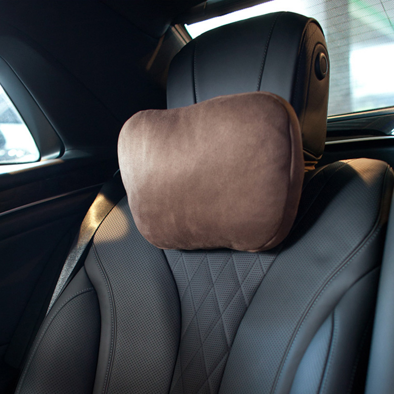 2 pieces Car neck pillows comfortable Protect the neck universal headrest for most cars fills fiber Neck Rest Support Cushion in Neck Pillow from Automobiles Motorcycles