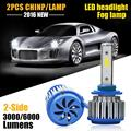9005 HB3 LED Car Headlight Bulb  COB Led Headlights 60W 6000LM 6000K Auto Led Headlamp 12v 24v Fog Light