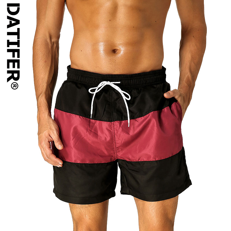 Datifer ES6 Quick Dry Men   Board     Shorts   Beach Wear With Brief Mesh Lining Beach   Short   Man Siwmwear Swim   Shorts