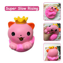 Squishies Adorable Cat Slow Rising Cream Squeeze Scented Stress Relief Toys Anti stress Stress Reliever 19May10 P35(China)