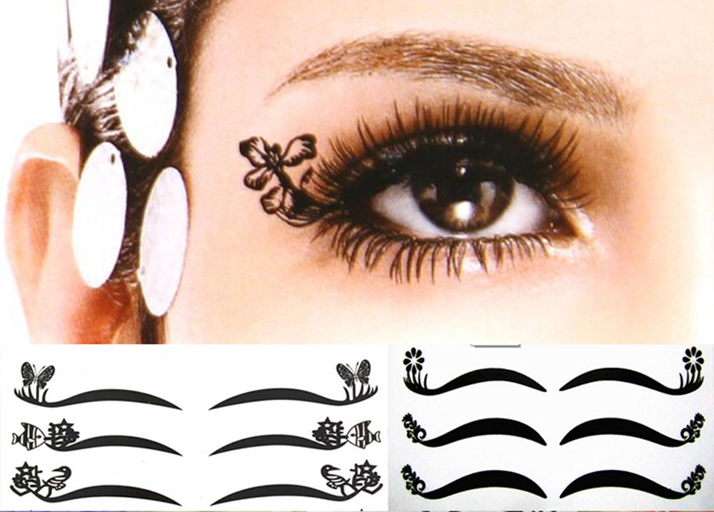 Image result for eyeliner sticker
