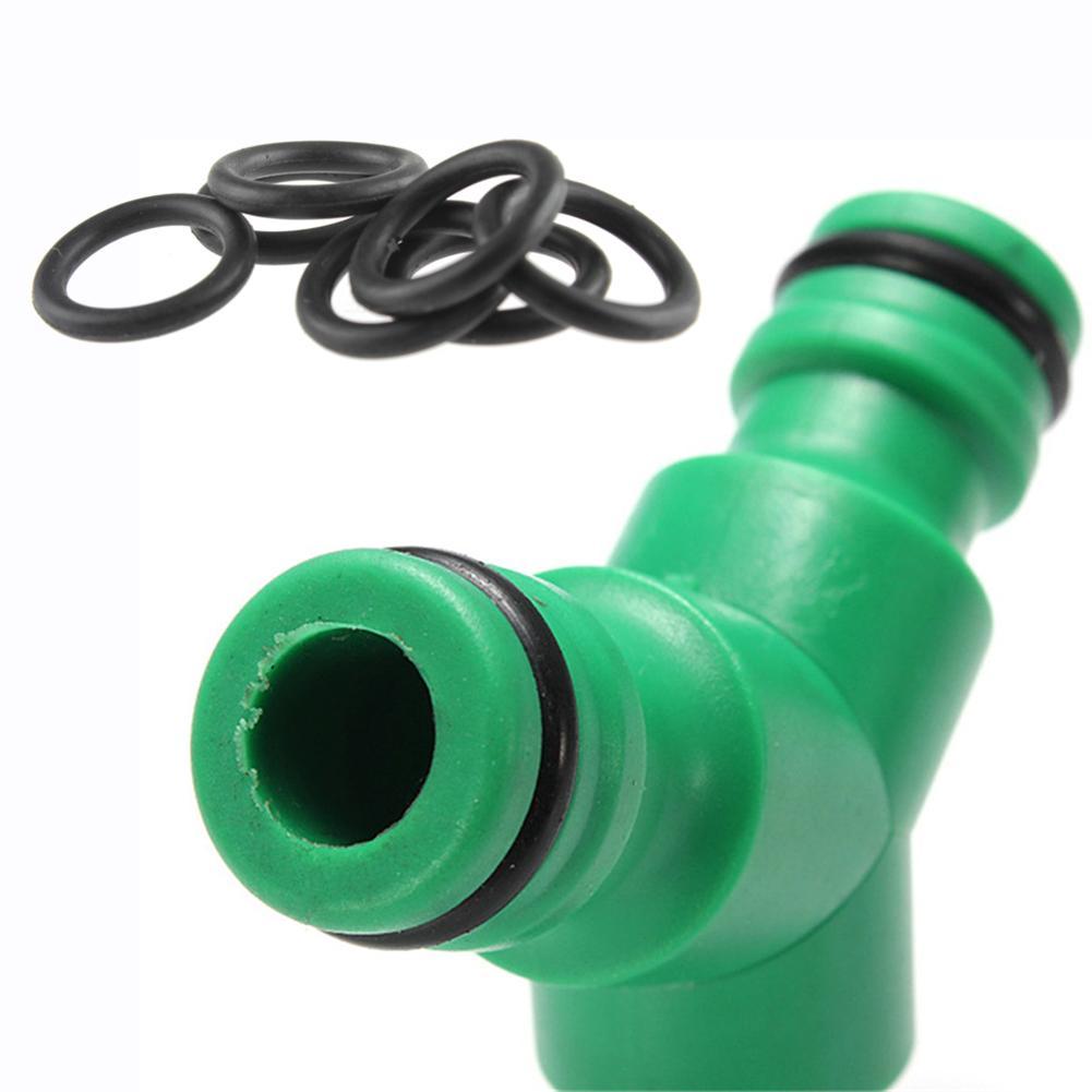 50PCS O-Type Waterproof Gasket Washer Flat Ring Gasket Washer Rubber Ring Machine Faucet Seal Pipe Tube Joint Seal