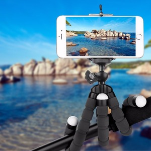 Image 5 - Phone Holder Flexible Octopus Tripod, Bracket Stand Mount bike bicycle Monopod Styling Accessories For Mobile Phone Camera