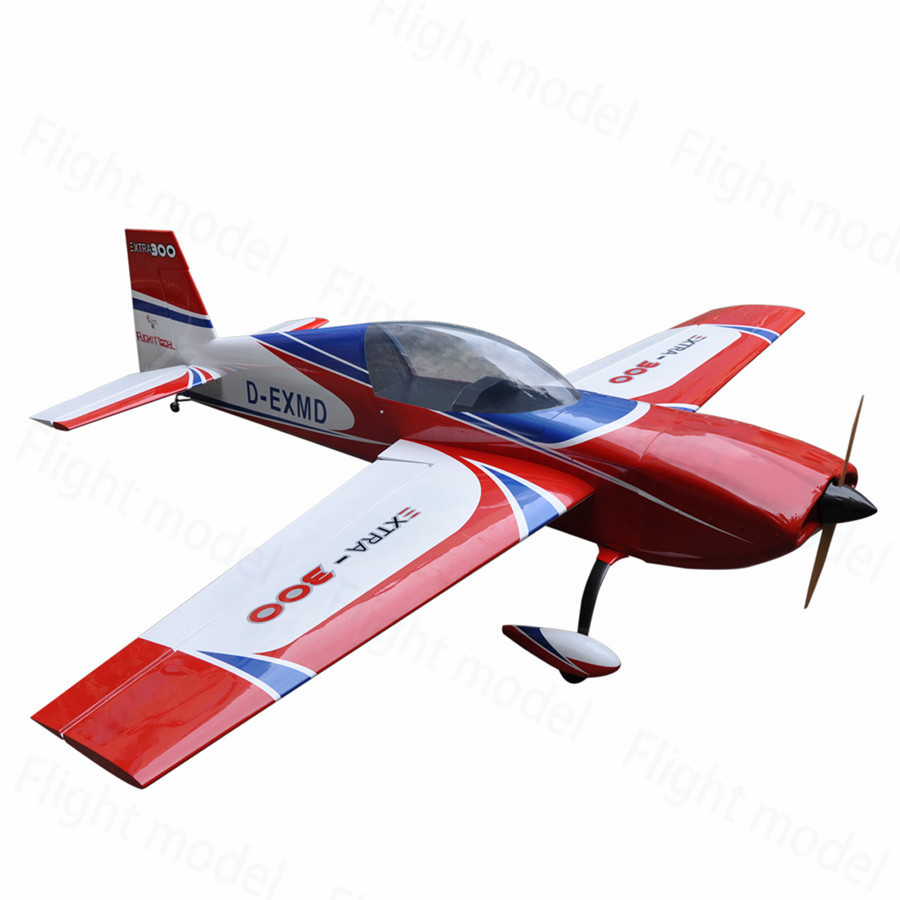 Flight-Model Extra300 125 150-175cc Balsa Wood Gasoline Fixed Wing RC Model Airplane 3D Aerobatic дождевики reisenthel дождевик mini maxi stonegrey dots