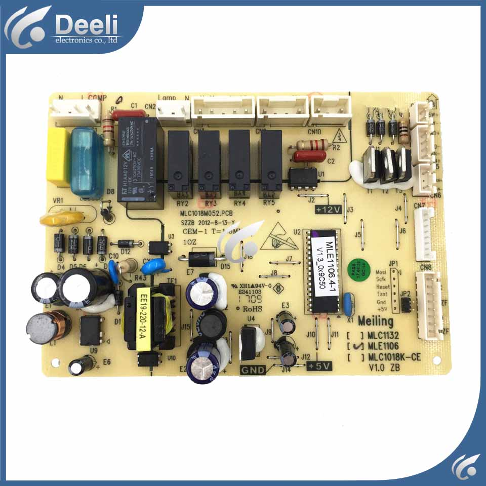 цена Original good working for refrigerator module board frequency inverter board driver board MLE1106 E1106.4-1 B0996.4-1 B0996