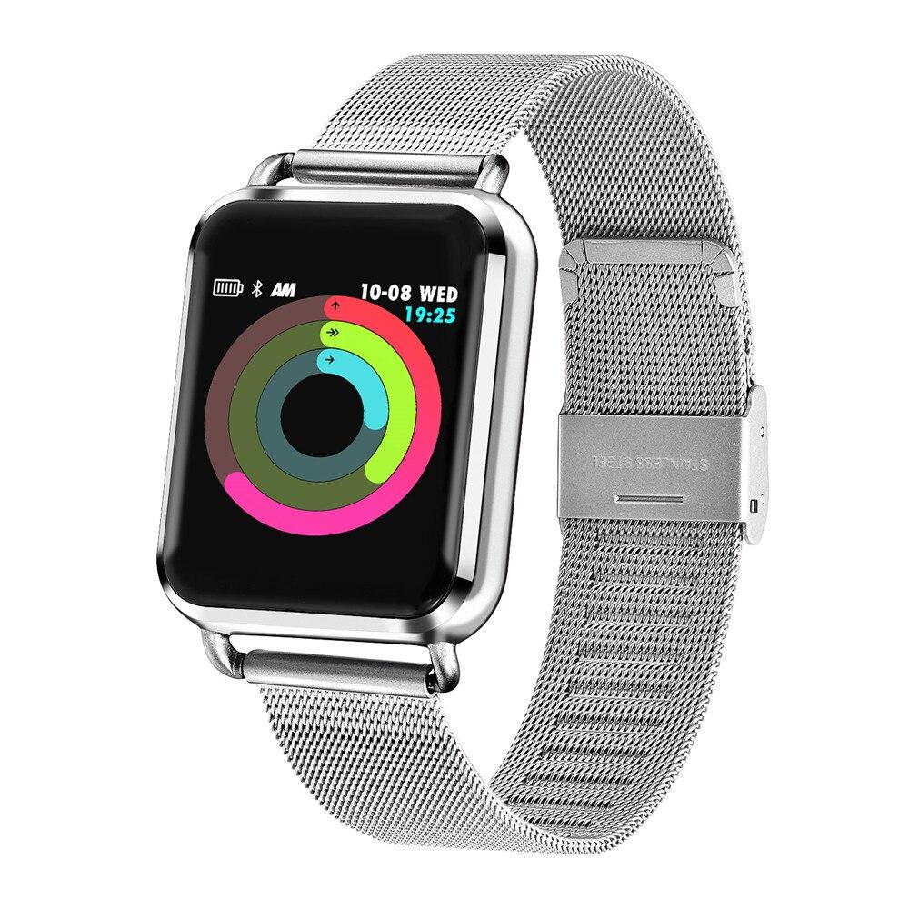 Montre intelligente Q3 hommes étanche dynamique pression artérielle oxygène pression artérielle podomètre Fitness Tracker fréquence cardiaque Smartwatch