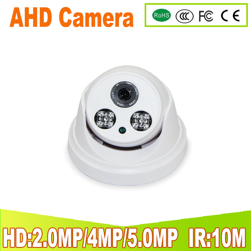 720P 1080P 4MP 5MP AHD Camera Waterproof Night Vision IR:10M IR-Cut 2PCS IR LEDs CCTV Security Outdoor Cameras 2MP AHD Camera