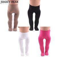 Джимми медведь 4 шт./компл. леггинсы для 18 дюймов американская девушка Кукла Одежда Аксессуары