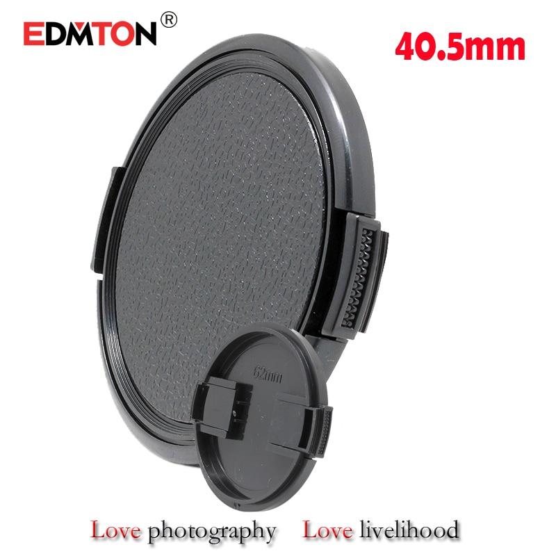 30PCS / partija 40.5mm objektīva vāciņš Nikon J2 Olympus EP-1 / EP-2 CANON SONY nex A5100 a6000 a6300 16-50mm objektīva pārsegs bezmaksas kuģis