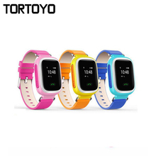 Q60 Smart Kid Tracking Watch Phone Wristwatch SOS Call Location Finder Locator Tracker Baby Anti Lost Monitor Child Gift PK Q50