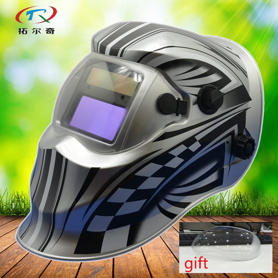 2233ff Silver Welding Helmet With Filter Protectors Face Solar Welding Mask Auto Darkening Full Automatic Grinding Adjust Kd01 g Supplement The Vital Energy And Nourish Yin