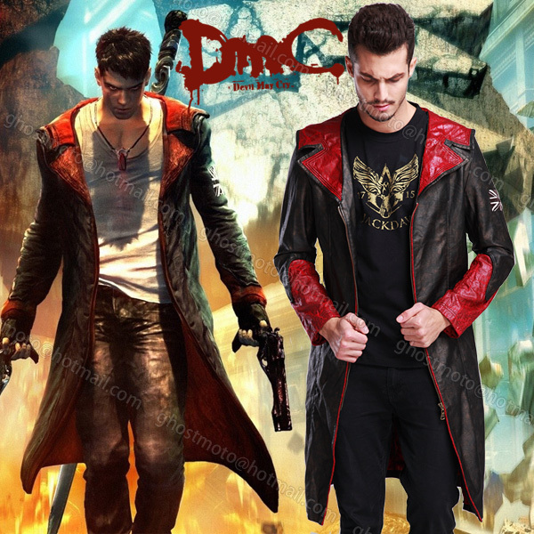 Is There Anything The Devil Can T Rock Lucifer: Hot Sell New Devil May Cry 5 Dante Game Cosplay Halloween