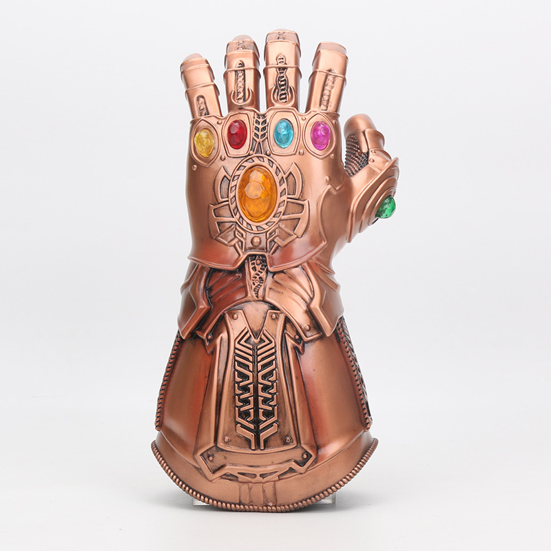 The Avengers Thanos Infinity Gauntlet Cosplay Gloves Halloween Props Hard Avengers: Infinity War Cosplay Accessories