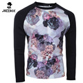 Round Neck T-Shirt Men Slim Fit Male T Shirt Men Long Sleeve Mens T Shirts Printing Fashion 2016 T shirt Homme  Shirt Homme  DQA