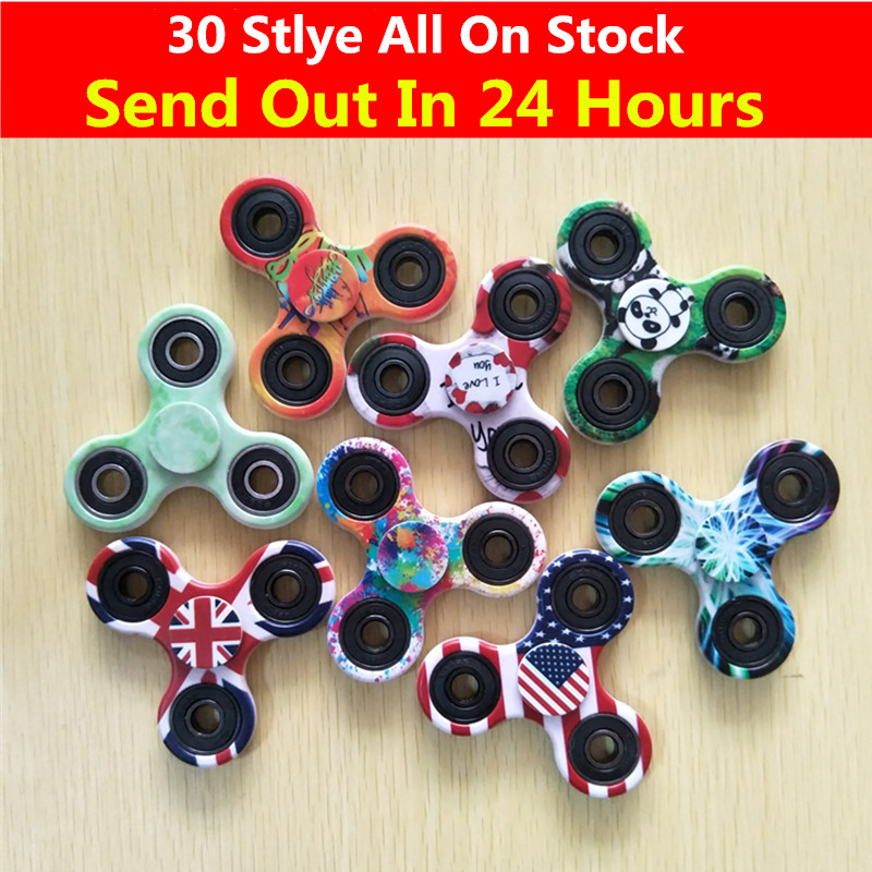 Multi Color Triangle Gyro Finger Spinner Fidget Plastic EDC Hand For Autism ADHD Anxiety Stress Relief Focus Toys Gift 30 Styles new luminous metal fidget spinner triangle gyro edc hand finger spinner for autism adhd anxiety stress relief focus toys gift