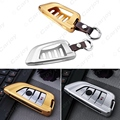 5pcs For BMW X1 X5 X6 X5M X6M 2/7 Series Aluminium Alloy Key Cover Case with Leather Keychain Interior Key Ring  #CA4539