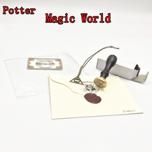 Get more info on the Harri Potter Fire Seal Stamp Admission Letter 3/4 Platform Deathly Hallows Necklace Figure Toy Magic Wolrd Cosplay Jouet Toys