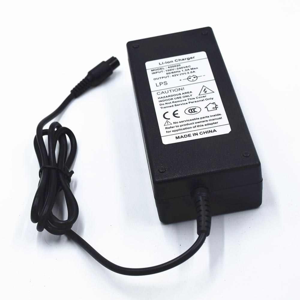 Caricabatterie per 6.5 8 10 pollice hoverboard 36 42 v ue spina degli stati uniti