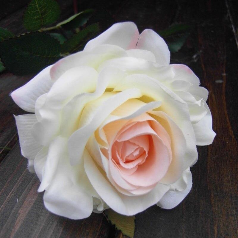 Beautiful Single Rose Artificial Flower Silk Floor Set In Dried Flowers From Home Garden On Aliexpress