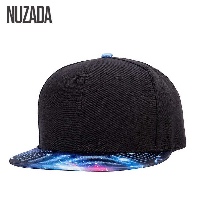 Brands NUZADA Hip Hop Cap Men Women Baseball Caps Fashion Classic Trend Printing Snapback Hats Bone jt-121 aetrue brand men snapback caps women baseball cap bone hats for men casquette hip hop gorras casual adjustable baseball caps