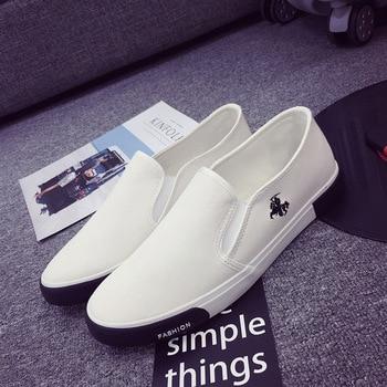 New Fashion Men's Outdoor Loafers Walking Sneaker Men's Casual Leather Flat Shoe 5