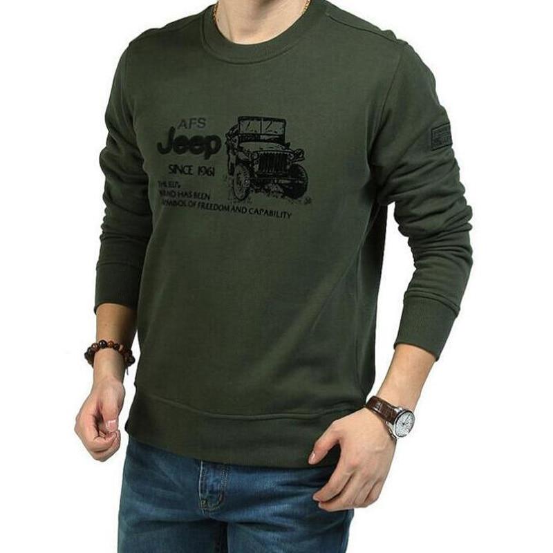 2018 bluza të reja pranverë për burra me cilësi të lartë, bluzë me mëngë të gjata O-qafë, këmishë burra, tshirt homme