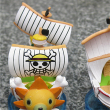 Thousand Sunny Pirate Ship Action Figure 8cm