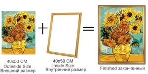 Новый Diy из необработанного дерева растягиватель 1 шт. diy картина маслом Алмазная мозаика Толстая деревянная рама Настенная картина рамка
