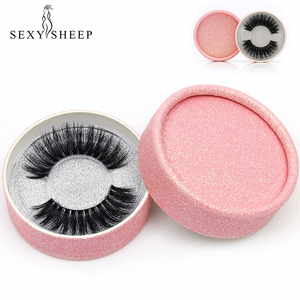 Image 1 - SEXYSHEEP 3D Silk protein False EyeLashes Handmade False lashes Natural Long Fake Lashes Curl Soft Fibroin Perfect packaging